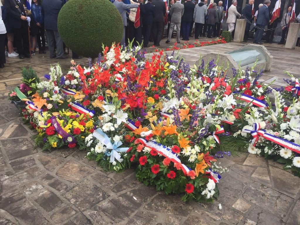 74ème cérémonie de commémoration du massacre d'Oradour-sur-Glane 2012