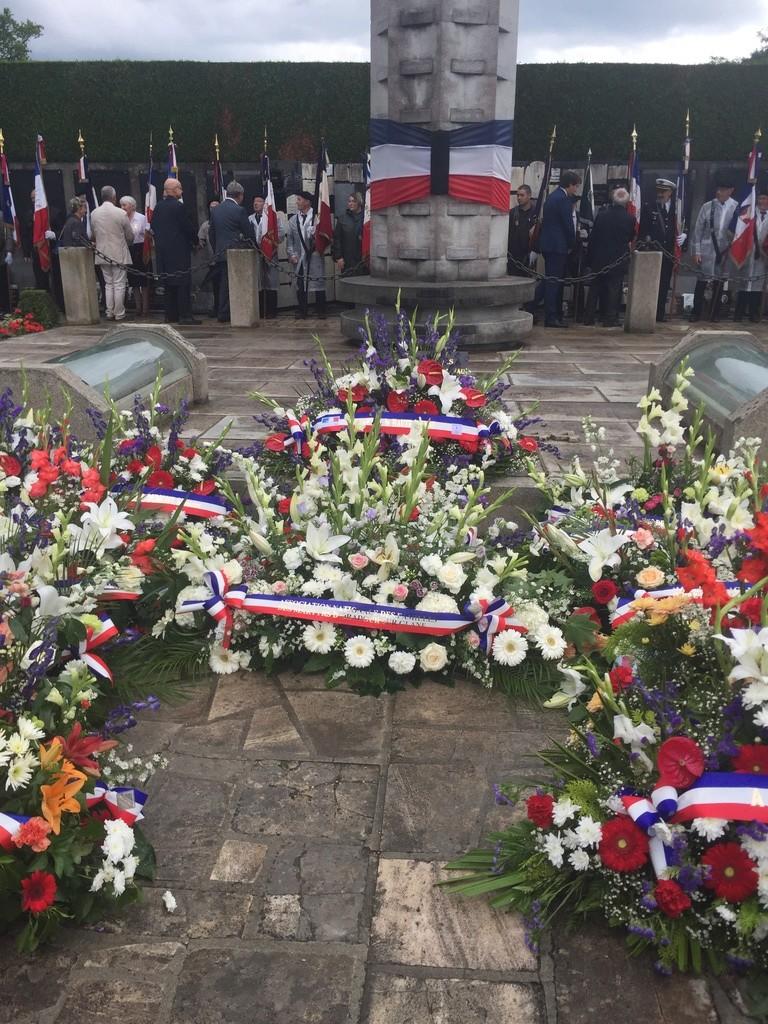 74ème cérémonie de commémoration du massacre d'Oradour-sur-Glane 2116