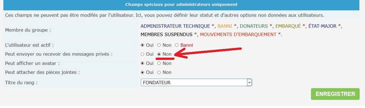 Notifications pour rien 385