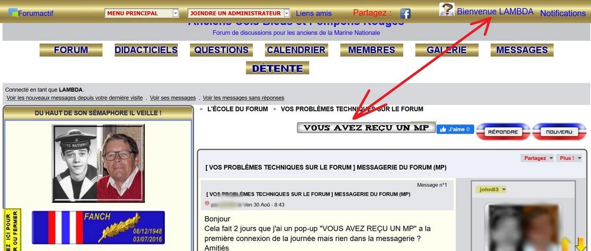 Notifications pour rien 547