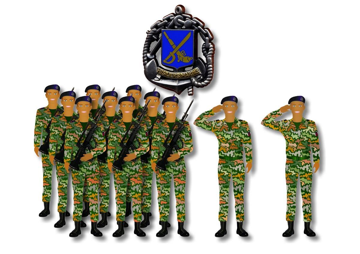[LES TRADITIONS DANS LA MARINE] Planches dessins des grades et uniformes 925