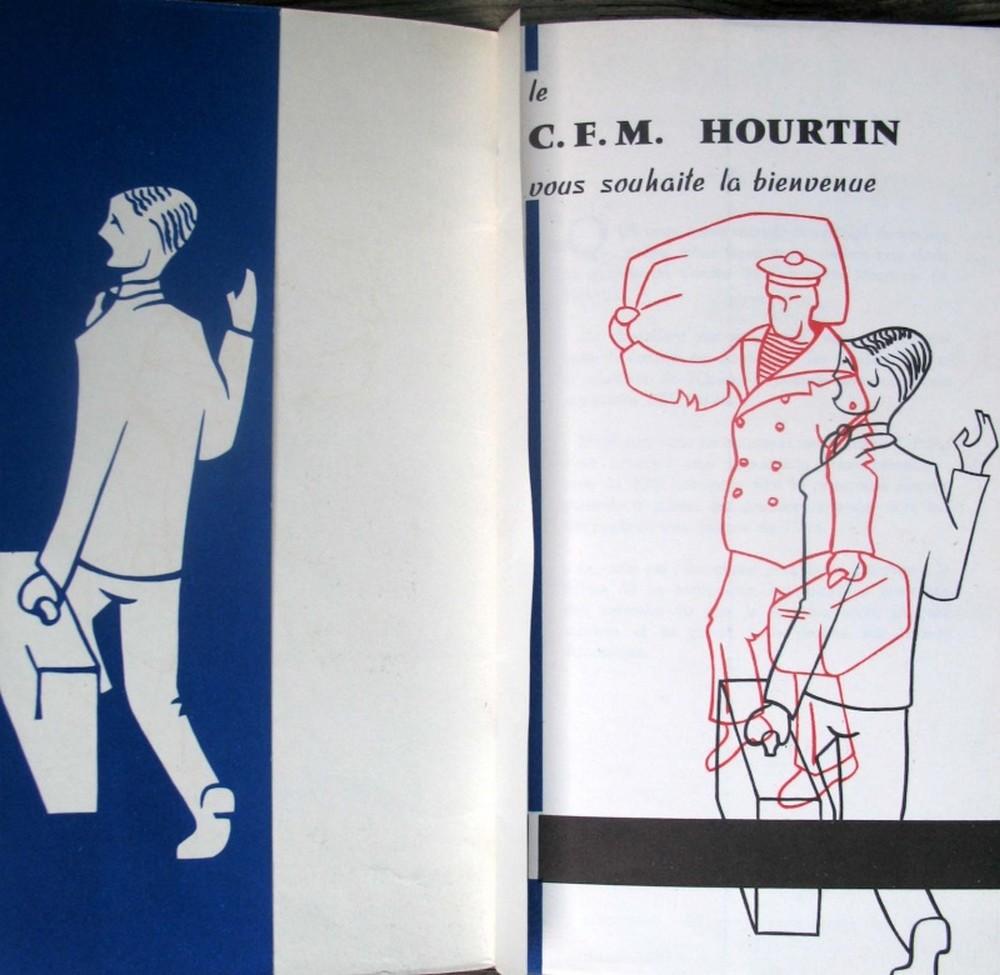 HOURTIN MARINE 1946. Acceui10