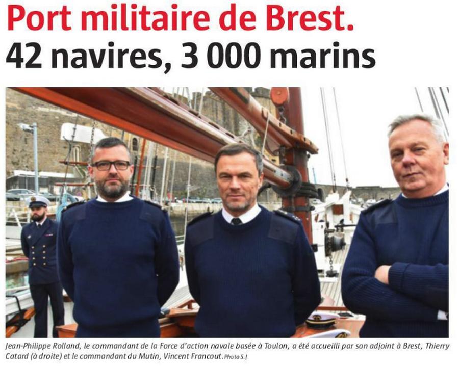 [Les ports militaires de métropole] Port de BREST - TOME 3 - Page 4 Brest110