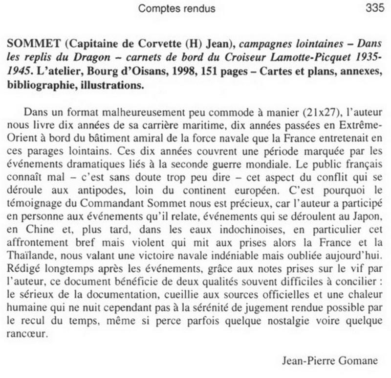 [ Histoire et histoires ] Capitaine de Corvette (H) Jean Sommet Cc12