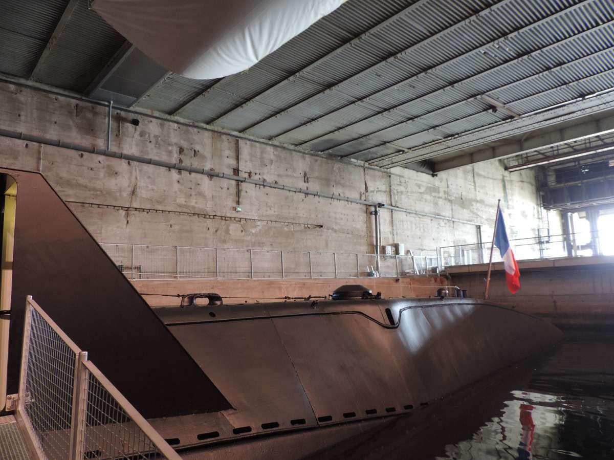 [ Les musées en rapport avec la Marine ] Sous-Marin Espadon (Saint-Nazaire). - Page 2 Dscn2716
