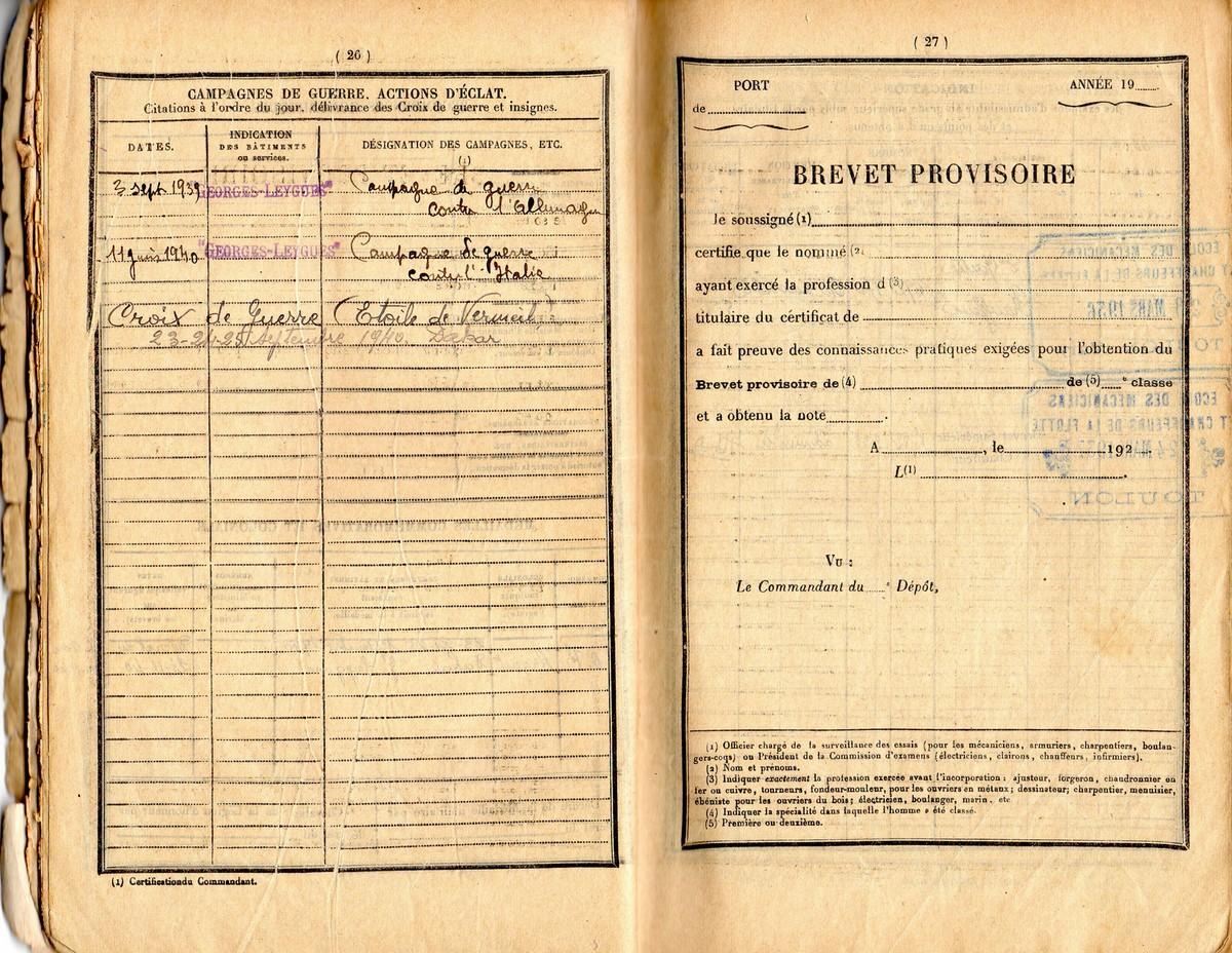 GEORGES LEYGUES (Croiseur) - Page 4 Img00810