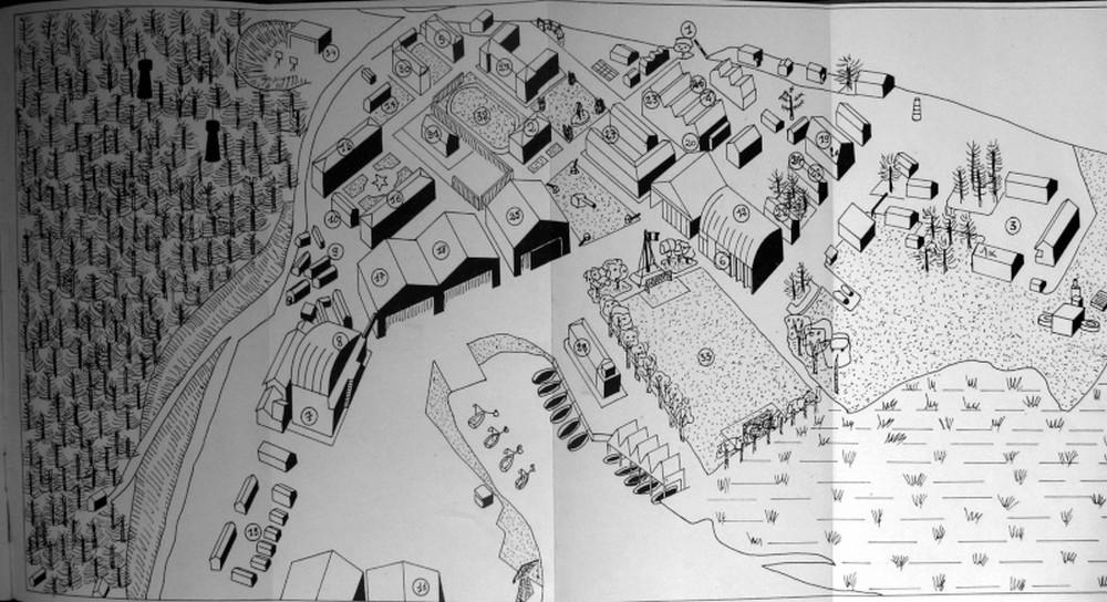 HOURTIN MARINE 1946. Plan_h10