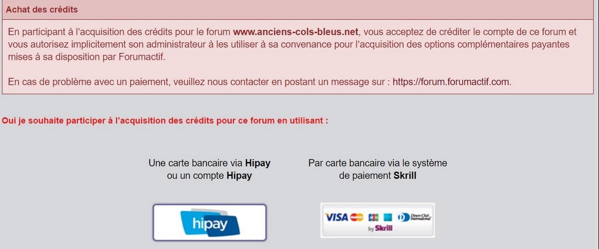paypal - Achat des crédits par PayPal Sans_229