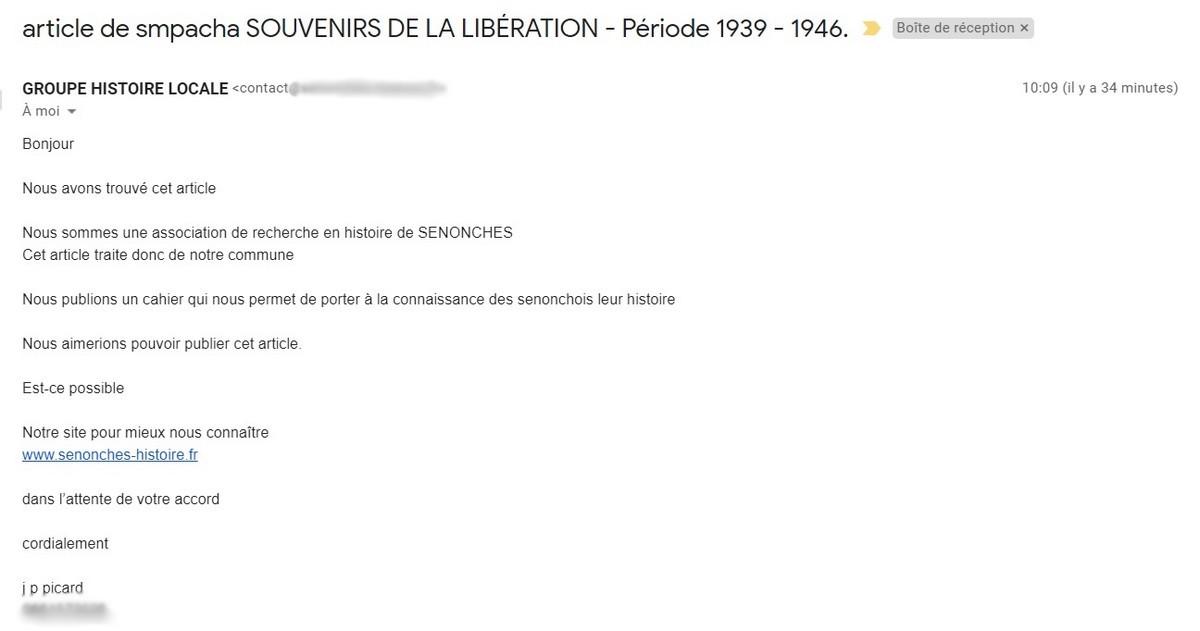 """[ Blog visiteurs ] Article de smpacha """"Souvenirs de la Libération - Période 1939 - 1946"""". Sans_418"""