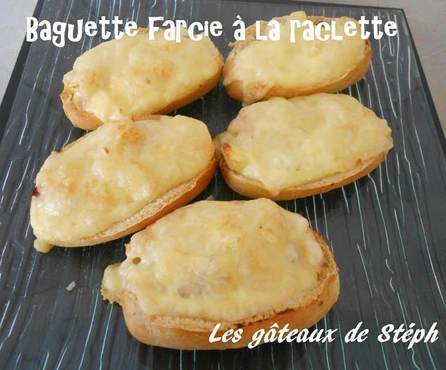 Baguettes farcies à la raclette (recette validée) 9de87b10