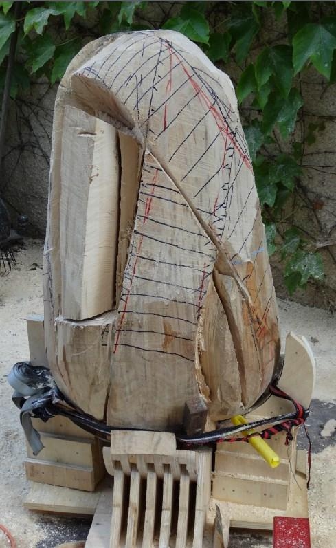projet sculpture à la tronçonneuse 2013-011
