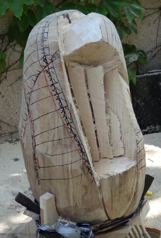 projet sculpture à la tronçonneuse 2013-012