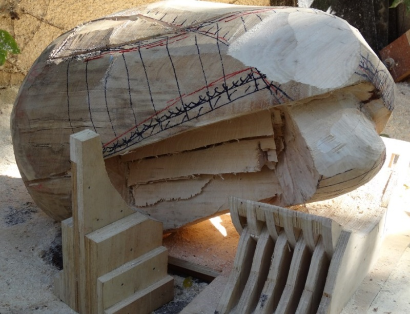 projet sculpture à la tronçonneuse 2013-014