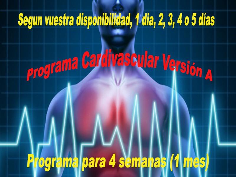 Programa Cardiovascular Versión A Versio26