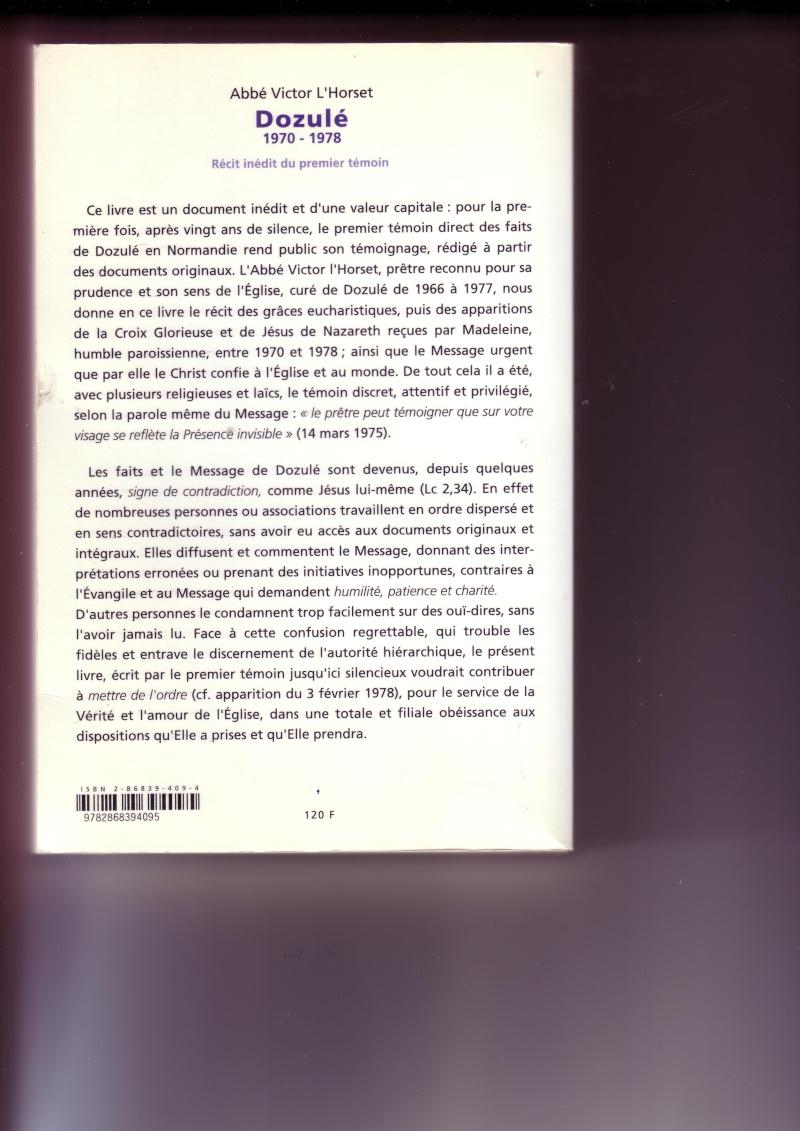 Madeleine Aumont annonce le message de Dozulé ! - Page 7 Scan1010