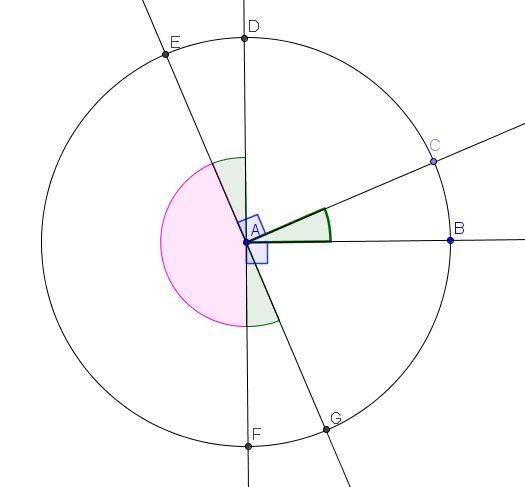 Critères de similitude des triangles Angles10