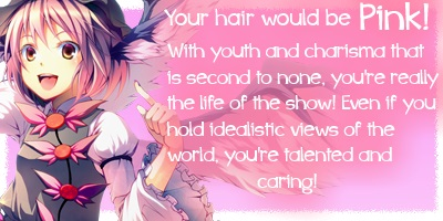 What anime hair color suits you? ;3; 3743_p10