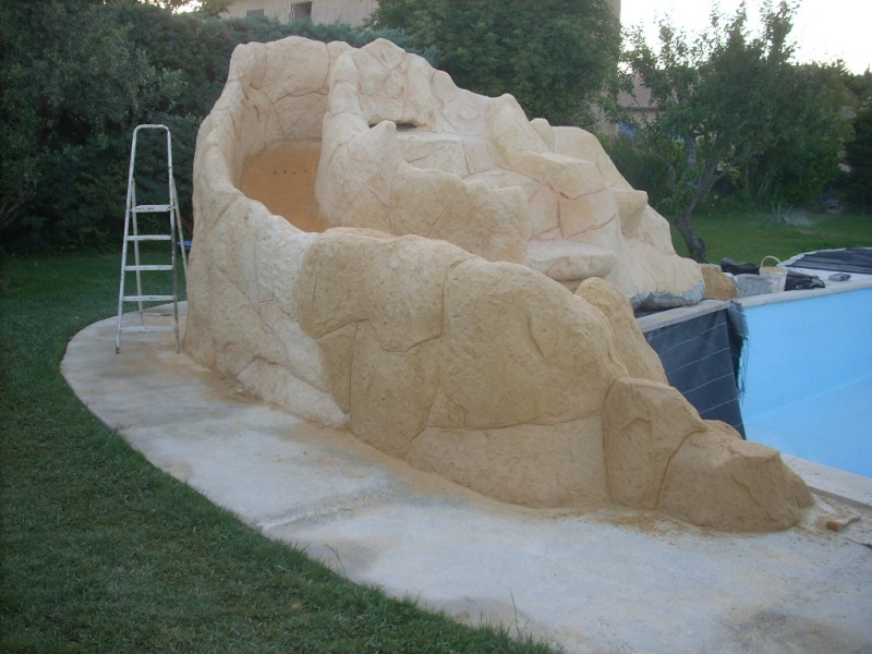 projet construction faux rocher avec cascade pour piscine besoin de conseille page 3 On rocher cascade pour piscine