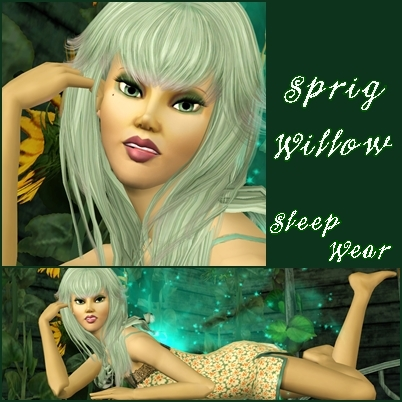 Sprig Willow ....a Fairy Sw110