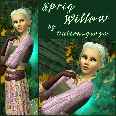 Sprig Willow ....a Fairy Sw210