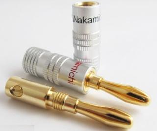 Nakamichi Speaker Banana Plugs Nakami11