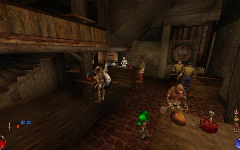 El ambiente de la taberna Tavern10