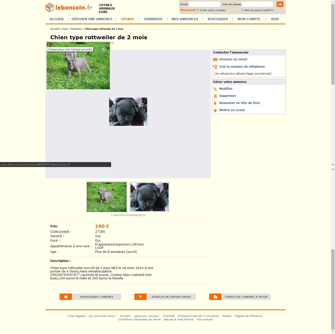 Ce que l'on trouve sur les sites de petites annonces... - Page 2 110
