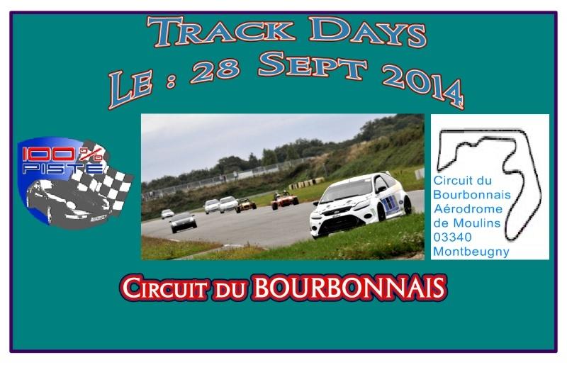 [28 Sept 2014] -100% PISTE au circuit du BOURBONNAIS [03] Affich12