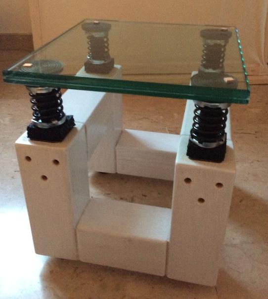 Stand per diffusori autocostruiti Stand11