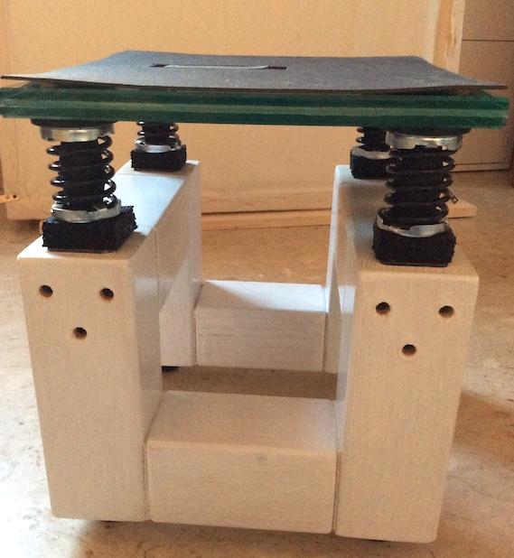 Stand per diffusori autocostruiti Stand210