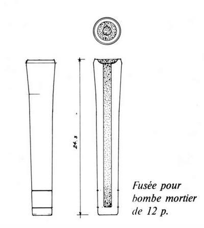Mortier naval anglais de 10 pouces, sur affût de fonte Scan1020