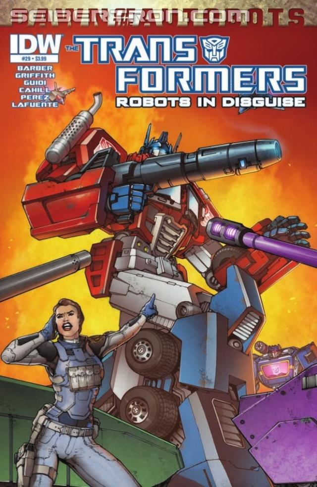 Comics/BD Transformers en anglais: Marvel Comics, Dreamwave Productions et IDW Publishing - Page 26 14011410