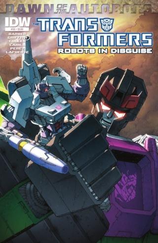 Comics/BD Transformers en anglais: Marvel Comics, Dreamwave Productions et IDW Publishing - Page 26 14020411