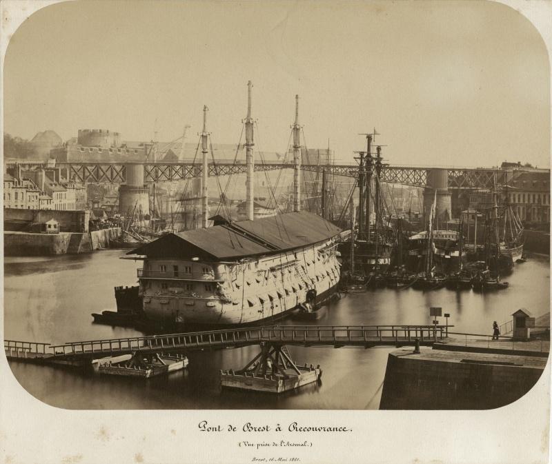 Vues du port de Brest 13041810