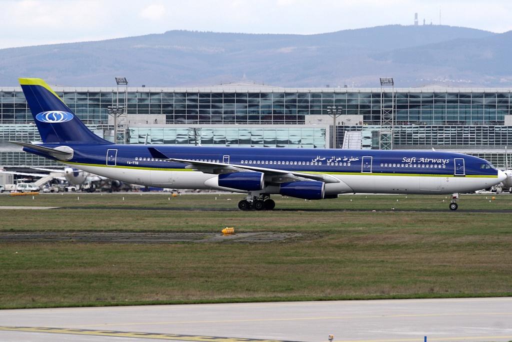 A340 in FRA Ya-ttb10