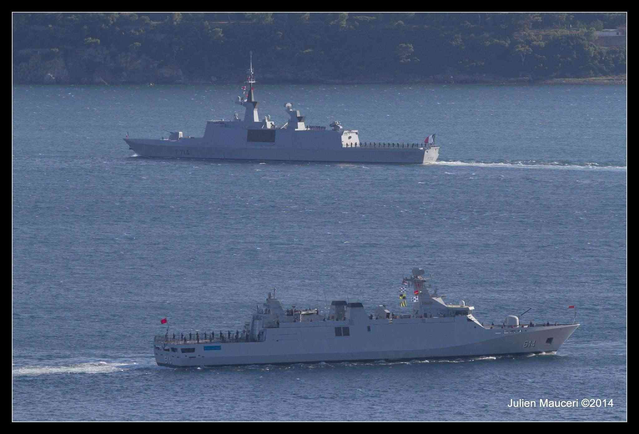 La Marine Royale à la revue navale de Toulon - 15 août 2014 10497311