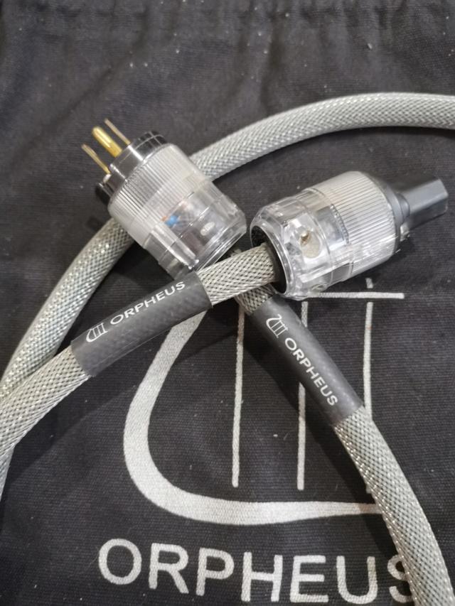 Orpheus Audio Power Cord SOLD Img_2022