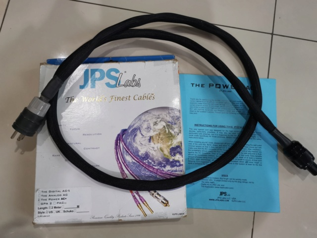 JPS Labs Power AC+ Power Cord  Img_2023
