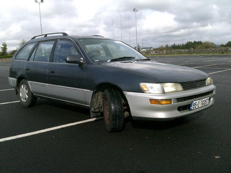 My 1995 Toyota Corolla G-Touring Wagon _2011