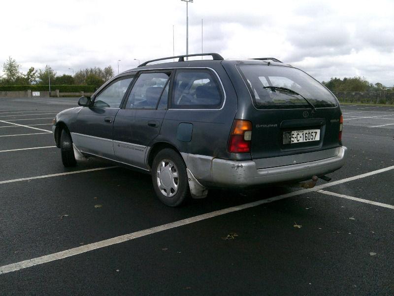 My 1995 Toyota Corolla G-Touring Wagon Yhyy10