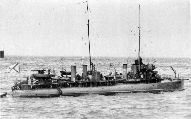 """""""Lieutenant BOURAKOV"""" contre-torpilleur de 300 tonnes - 1905. Photo112"""