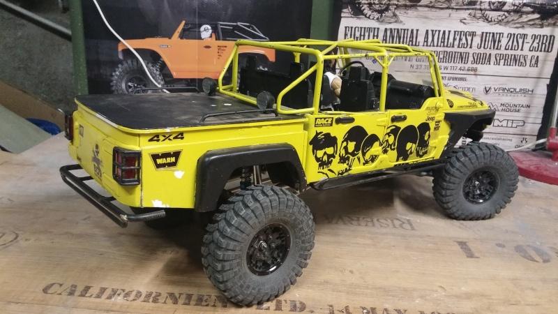 Jeep JK BRUTE Double Cab à la refonte! 76134210