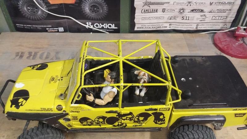 Jeep JK BRUTE Double Cab à la refonte! 76515410