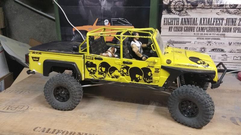 Jeep JK BRUTE Double Cab à la refonte! 81011210