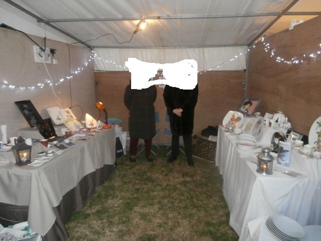 Mon premier marché de Noel en provence Pc140611