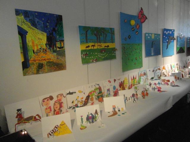 exposition de dessins et de maquettes Sam_8722