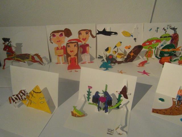 exposition de dessins et de maquettes Sam_8723