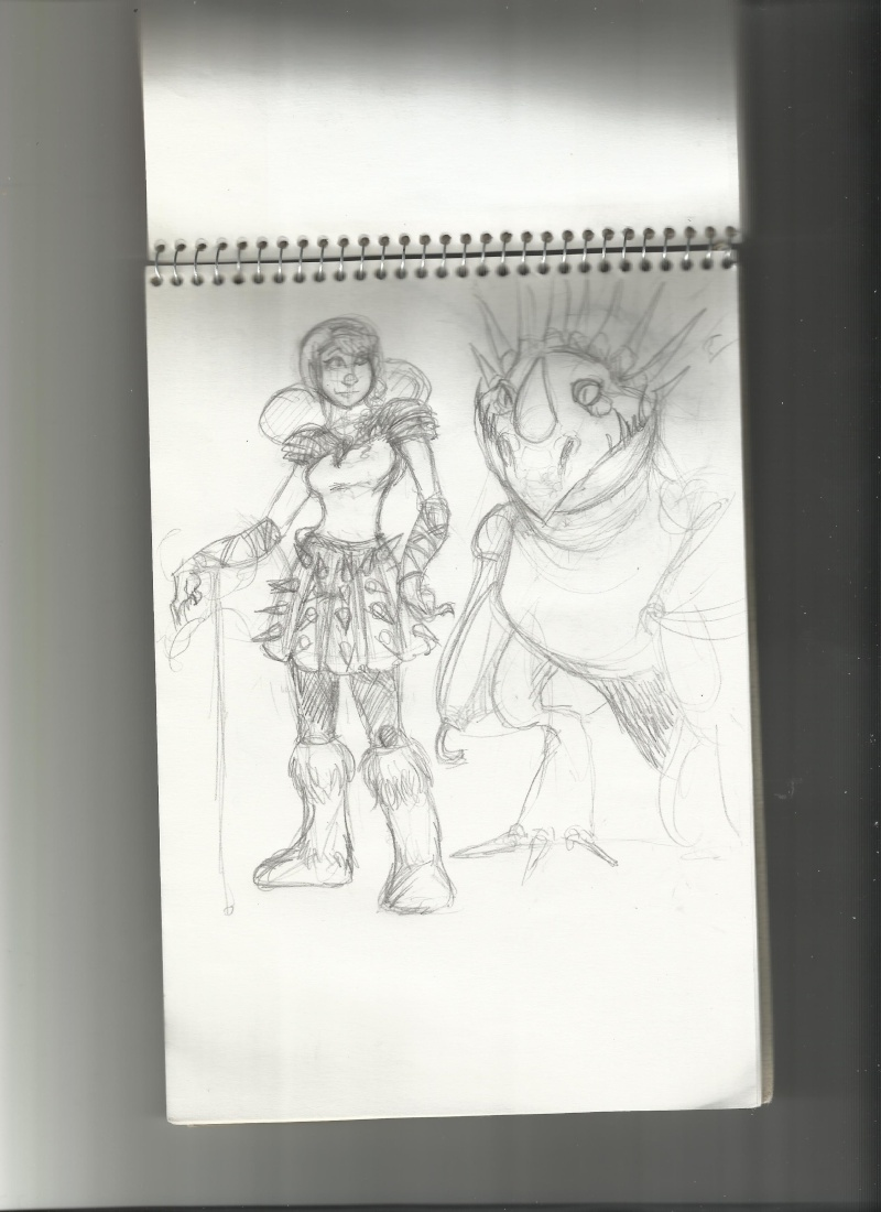Fan arts d'Hiccup - Page 2 Astrid10