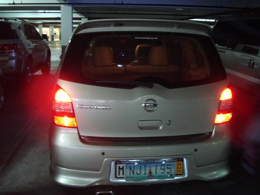 Additional tail light double contact bulb. Dsc00111
