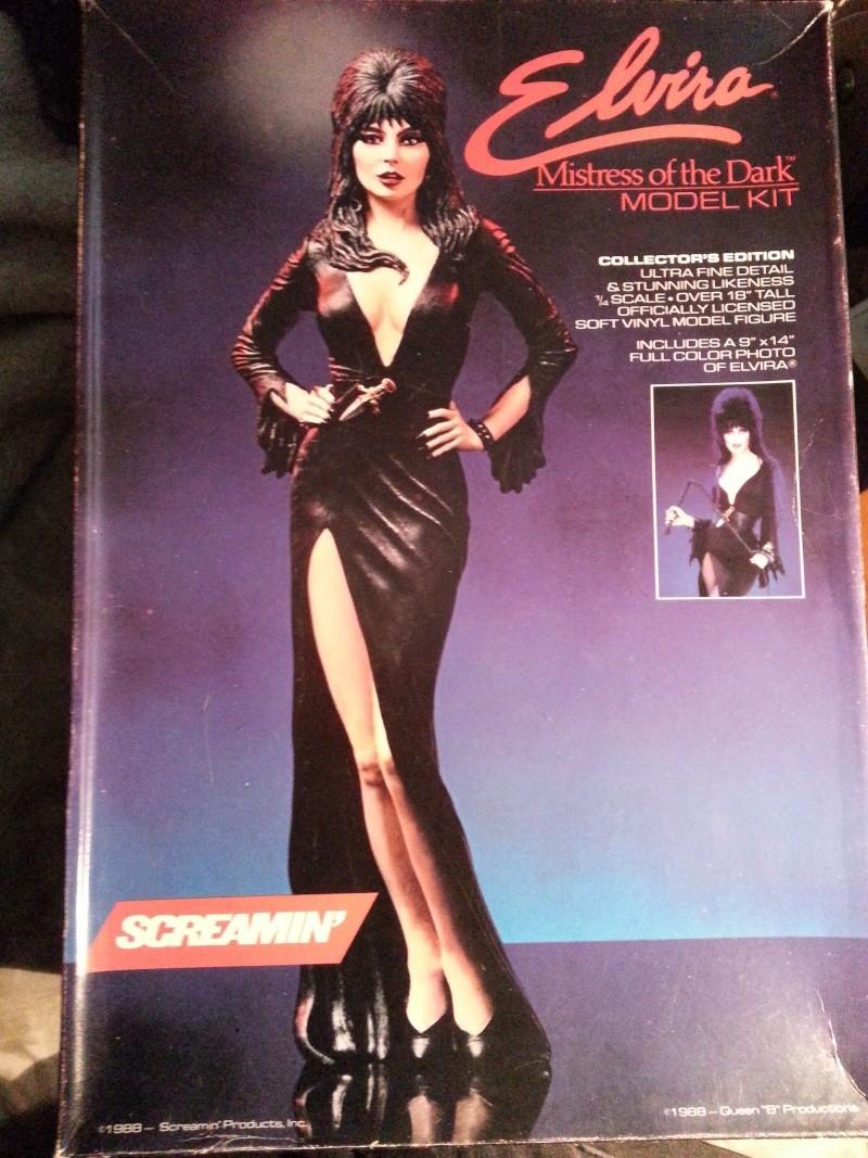 Elvira-Mistress of Darkness 1:4 von Screamin 20140255